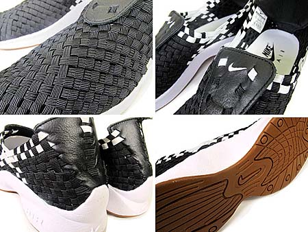 NIKE AIR WOVEN QS [SOPH.|BLACK/WHITE] 530986-010