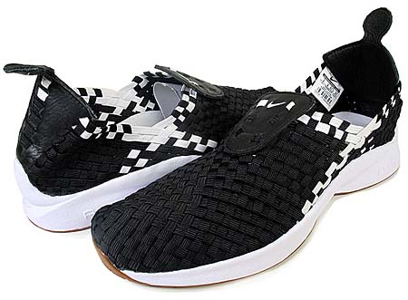 NIKE NIKE AIR WOVEN QS [SOPH.|BLACK/WHITE] 530986-010 画像