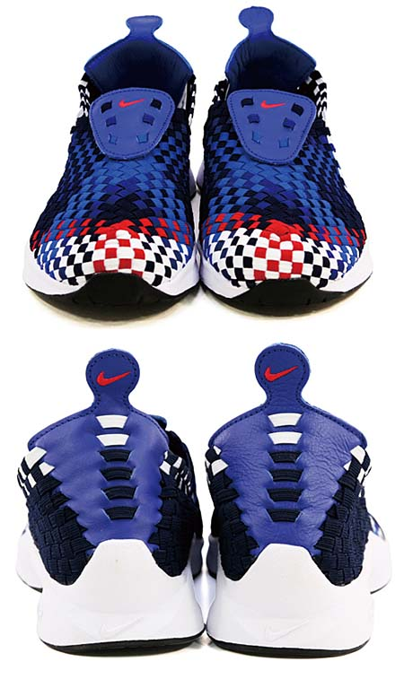 NIKE AIR WOVEN QS [OBSIDIAN/UNI RED-DEEP ROYAL BL] 530986-460