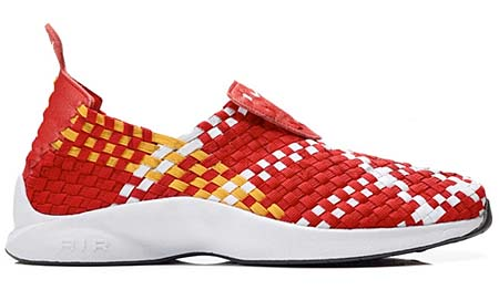 NIKE NIKE AIR WOVEN QS [UNI RED/WHITE-UNI GOLD-BLACK] 530986-610 画像