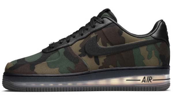 NIKE NIKE AIR FORCE 1 LOW MAX AIR VT QS [CAMO/BLACK] 530989-090 画像