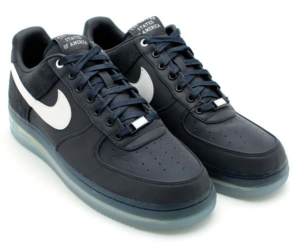 NIKE AIR FORCE 1 LOW PREMIUM 08 NRG USA Edition [DARK OBSIDIAN/WHITE] 532252-410