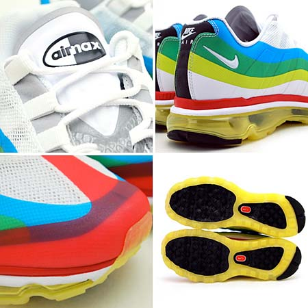 NIKE AIR MAX + 95 BB QS [WHITE/BLACK-SPORT RED] 532305-116