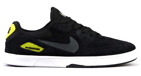 NIKE SB KOSTON X HERITAGE [BLACK/ANTHRACITE-ATOMIC GREEN] 536358-003