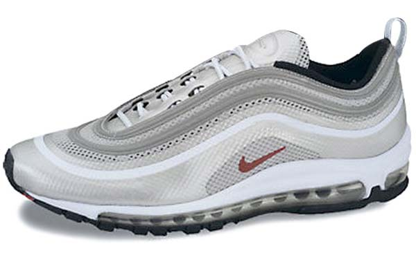 NIKE AIR MAX 97 HYPERFUSE PREMIUM NRG [METALLIC SILVER/VARSITY RED-BLACK] 542427-060