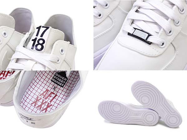 NIKE x DOVER STREET MARKET AIR FORCE 1 LOW DSM NRG [WHITE] 543512-110