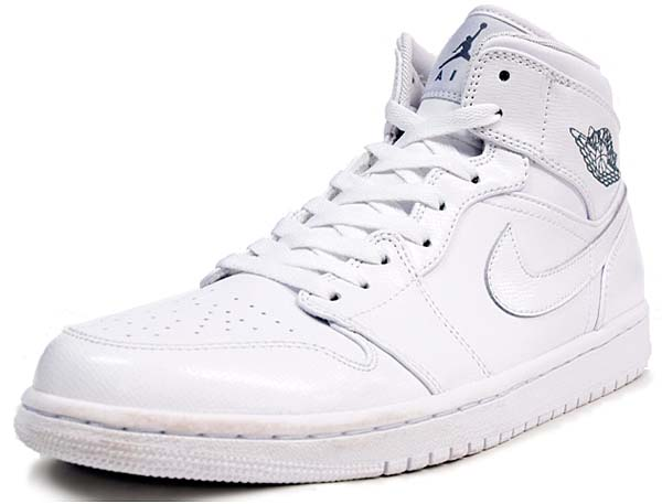 NIKE AIR JORDAN 1 MID [WHITE] 554724-100
