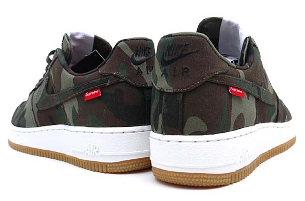 NIKE x SUPREME AIR FORCE 1 LOW PREMIUM 08 NRG [CAMO] 573488-330