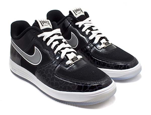 NIKE LUNAR FORCE 1 FUSE BROOKLYN [BLACK/ METALLIC SILVER] 577666-002