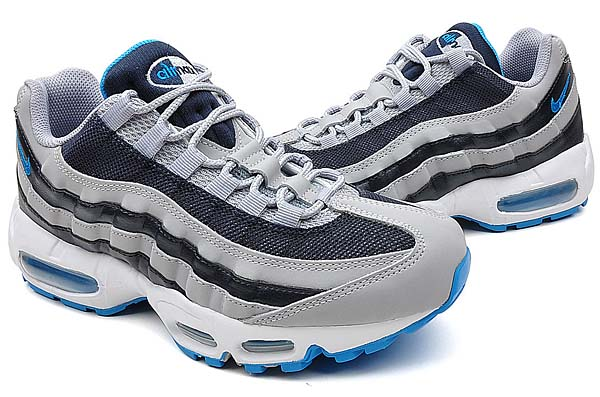 NIKE AIR MAX 95 [WOLF GREY/BLUE GLOW/ OBSIDIAN] 609048-094