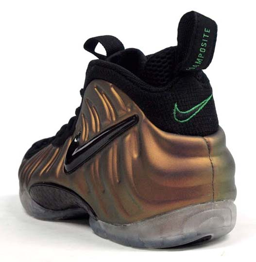 NIKE AIR FOAMPOSITE PRO [BLACK/GYM GREEN] 624041-302