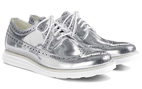 COLE HAAN LUNARGRAND LONG WING [SILVER] C12443