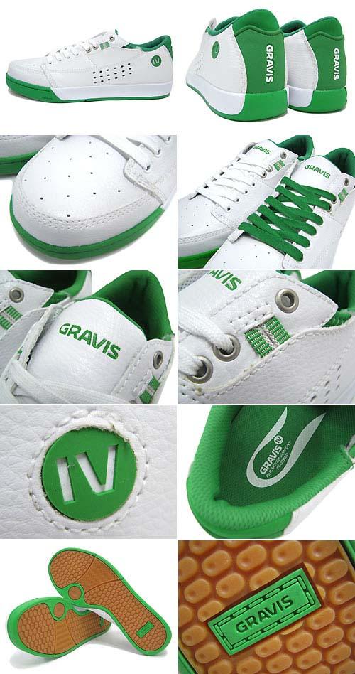 gravis TARMAC [WHITE/GREEN] 88917-122