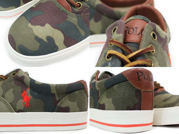 POLO RALPH LAUREN VAUGHN [OLIVE/ORANGE] 816176842