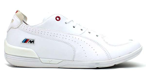 PUMA DRIVING POWER 2 LOW BMW [WHITE] 304434 画像1