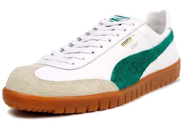 Puma OSLO [WHITE/GREEN/GUM]