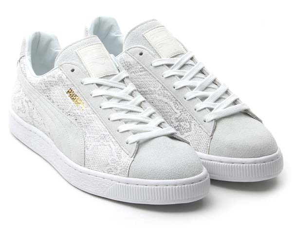 Puma JAPAN BASKET PYTHON TAKUMI [WHITE] 355736 画像1