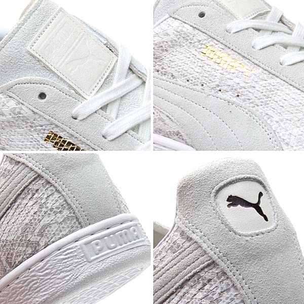 Puma JAPAN BASKET PYTHON TAKUMI [WHITE] 355736 画像2
