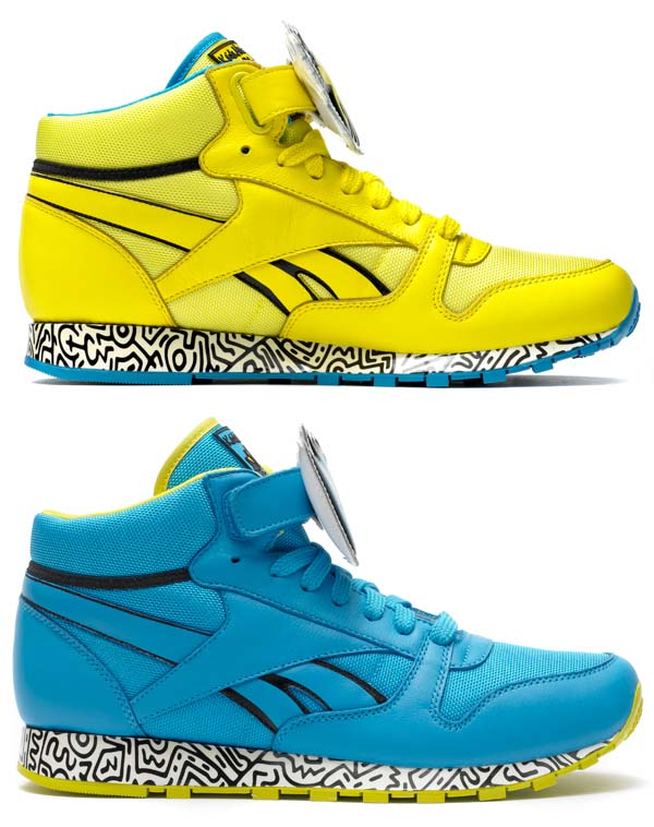 Reebok CLASSIC LEATHER MID STRAP [Keith Haring] V44586 写真2