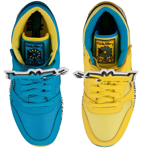 Reebok CLASSIC LEATHER MID STRAP [Keith Haring] V44586 写真3