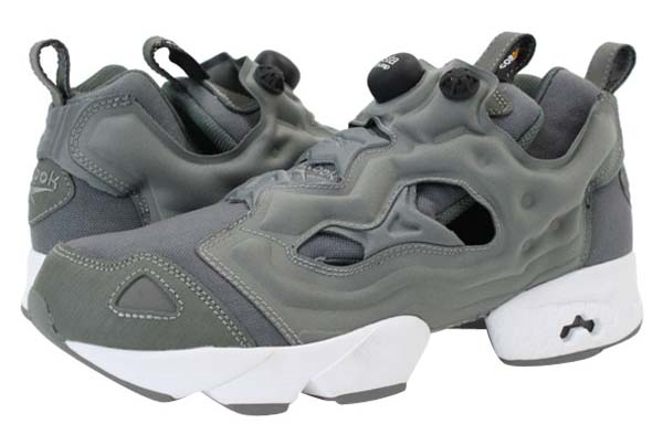 Reebok INSTA PUMP FURY CORDURA [GREY/WHITE/BLACK] V46062
