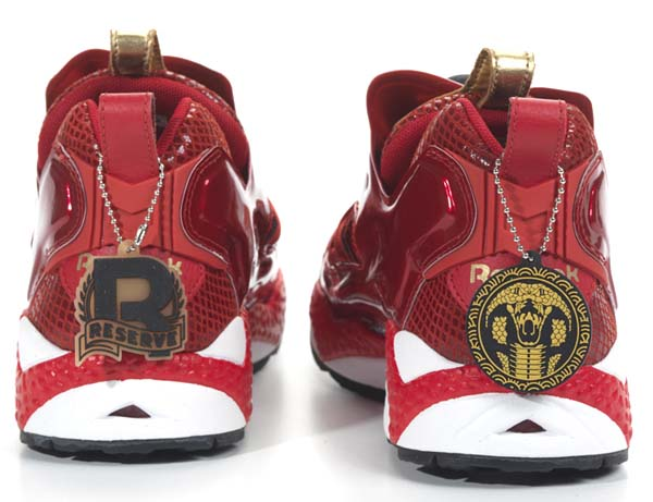 Reebok PUMP FURY YEAR OF THE SNAKE [EX RED/WHITE/ BLACK/GOLD] V46670 写真1