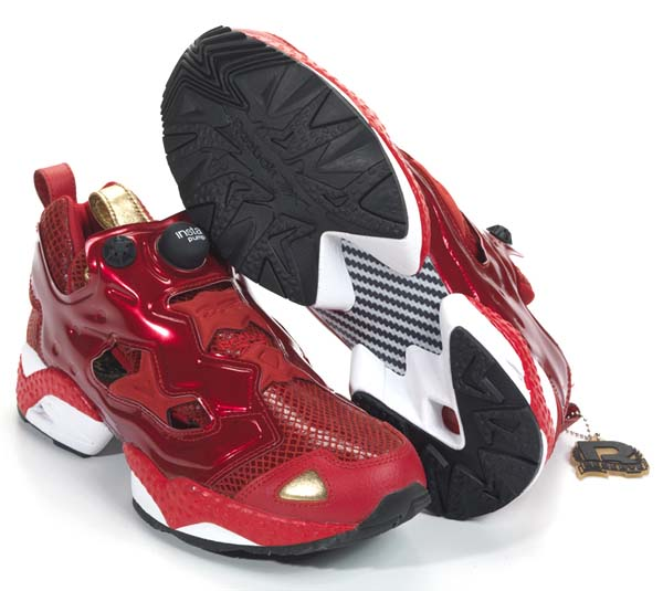 Reebok PUMP FURY YEAR OF THE SNAKE [EX RED/WHITE/ BLACK/GOLD] V46670 写真2