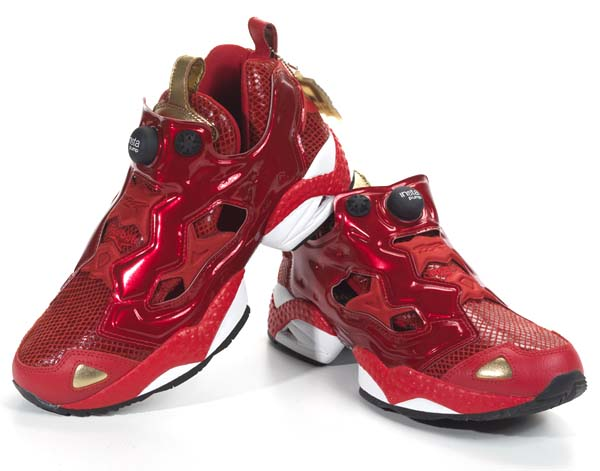 Reebok PUMP FURY YEAR OF THE SNAKE [EX RED/WHITE/ BLACK/GOLD] V46670