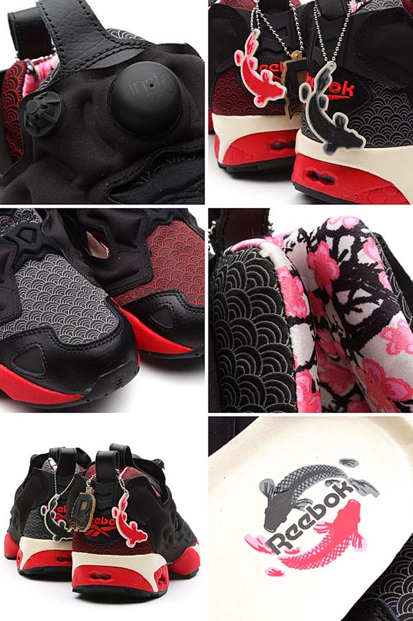 Reebok PUMP FURY [GW/BLCK/EXCELLENT RED/PAPERWHITE/CYCLONE] V46671 写真1