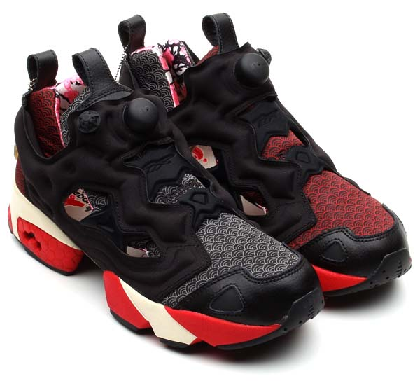 Reebok PUMP FURY [GW/BLCK/EXCELLENT RED/PAPERWHITE/CYCLONE] V46671