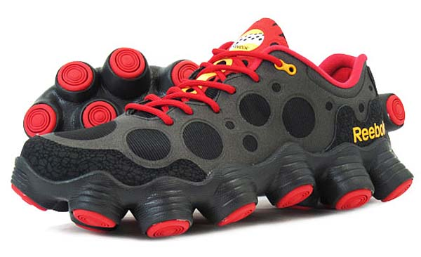 Reebok ATV19 Plus [BLACK/EXCELLENT RED/NEON ORANGE] V54817 写真1