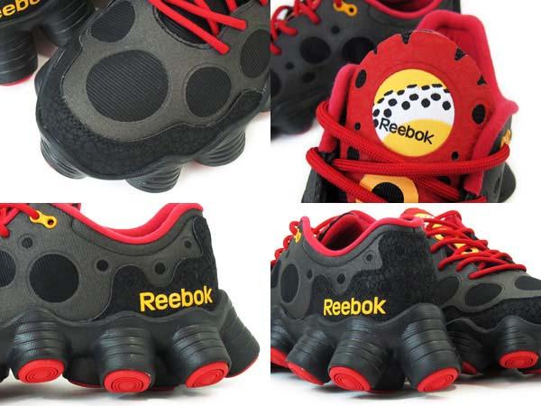 Reebok ATV19 Plus [BLACK/EXCELLENT RED/NEON ORANGE] V54817 写真3
