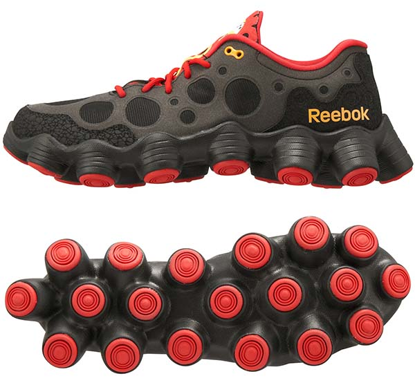 Reebok ATV19 Plus [BLACK/EXCELLENT RED/NEON ORANGE] V54817