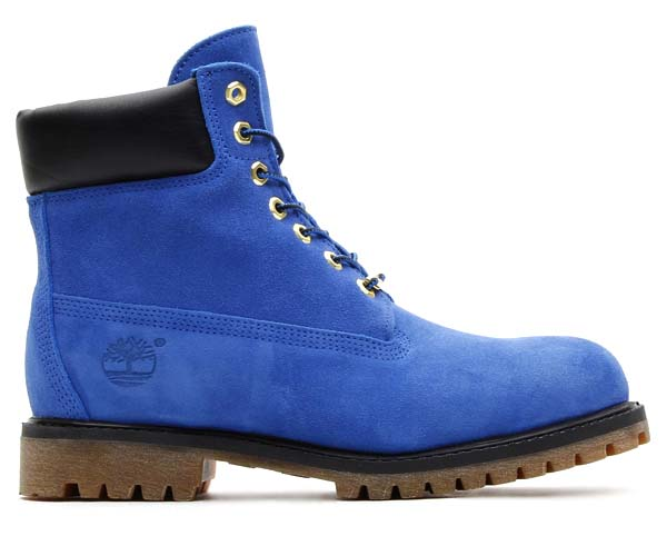 Timberland x atmos 6inch PREMIUM BOOT [BLUE SUEDE] 6146a