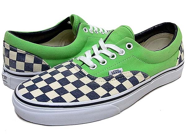 VANS ERA Van Doren [CHECKER/GREEN FLASH] 0QFK7SI