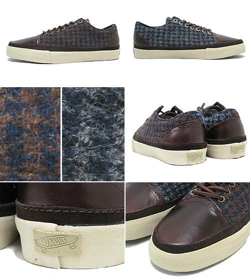 VANS x Harris Tweed OLD SKOOL HT DECON LX [BRONZE KHAKI] 0QGH66R 写真1