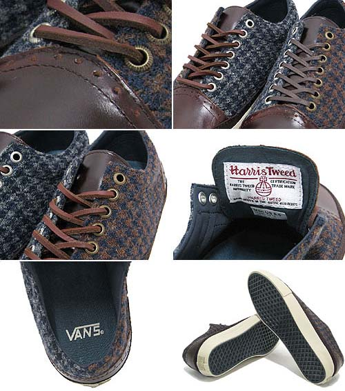 VANS x Harris Tweed OLD SKOOL HT DECON LX [BRONZE KHAKI] 0QGH66R 写真2
