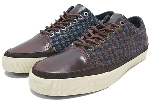 VANS x Harris Tweed OLD SKOOL HT DECON LX [BRONZE KHAKI] 0QGH66R