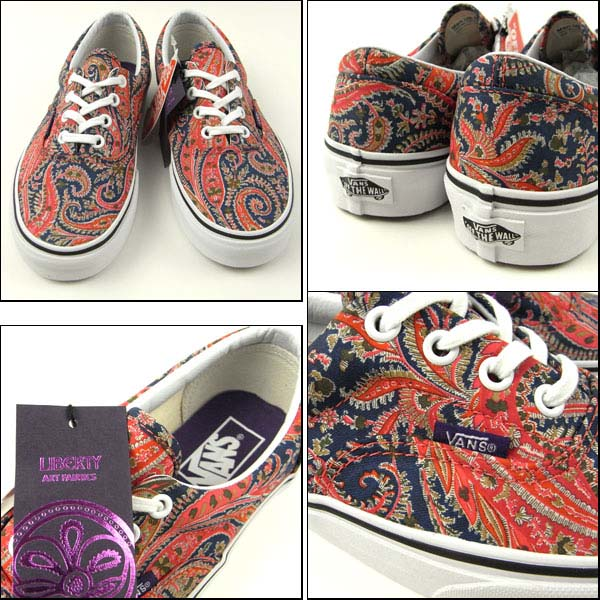 VANS ERA LIBERTY [PAISLEY/NAVY] 0tn98or 写真1