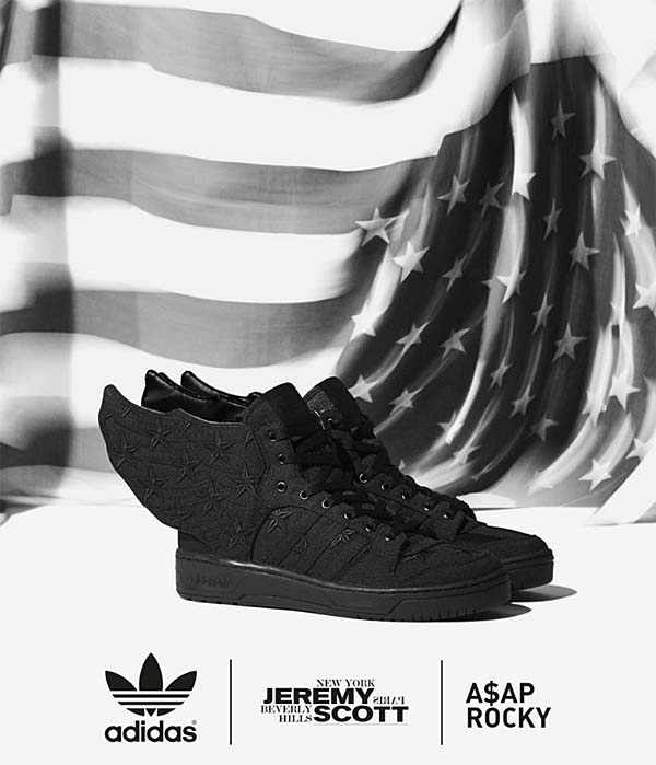 adidas Originals JS WINGS 2.0 [BLACK FLAG | ASAP ROCKY] D65206
