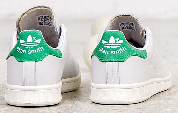 adidas STAN SMITH [NEO WHITE/GREEN] D67361 写真2