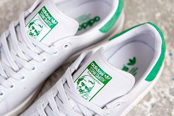adidas STAN SMITH [NEO WHITE/GREEN] D67361 写真3