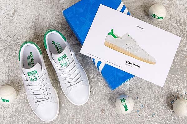 adidas STAN SMITH [NEO WHITE/GREEN] D67361 写真4