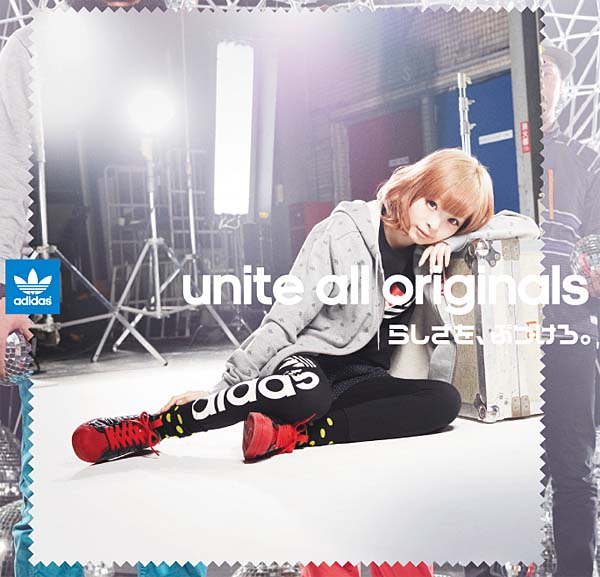 adidas Originals x きゃりーぱみゅぱみゅ SS ENML DRIP [BLACK/BLACK/LIGHT SCARLETT] G28357 写真4