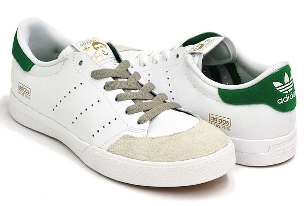 adidas skateboarding LUCAS STAN SMITH [RUNWHT/FAIRWA/RUNWHT] G67104 写真1