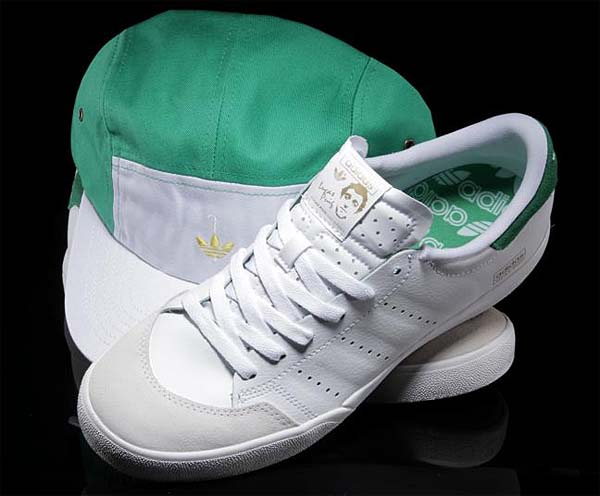 adidas skateboarding LUCAS STAN SMITH [RUNWHT/FAIRWA/RUNWHT] G67104 写真2