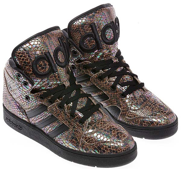 adidas Originals x Jeremy Scott JS INSTINCT HI [BLACK/BLACK/RUNNING WHITE] G95753 写真1
