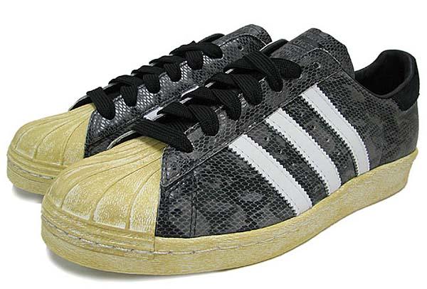 adidas Originals SUPER STAR 80s [BLACK/WHITE DOWN/LEGACY] G95846