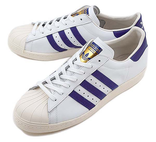 adidas Originals SS 80s [RUNNING WHITE/BLAST PURPLE/CHALK] G95851