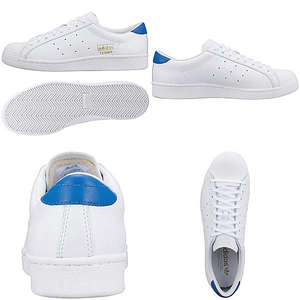 adidas Originals TENNIS VINTAGE [WHITE/WHITE/BLUEBIRD] G96233 写真2